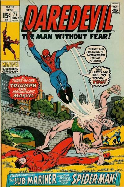 Cover for Daredevil (1964 series) #77