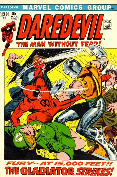 Cover for Daredevil (1964 series) #85
