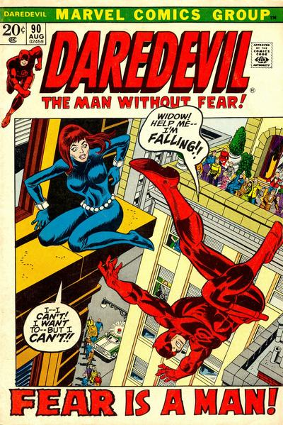 Cover for Daredevil (1964 series) #90