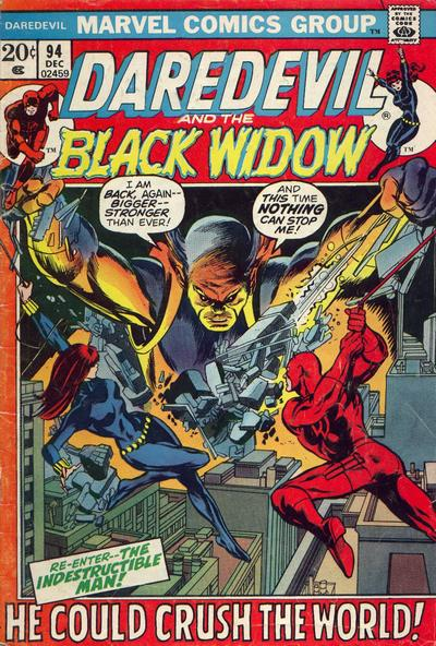 Cover for Daredevil (1964 series) #94