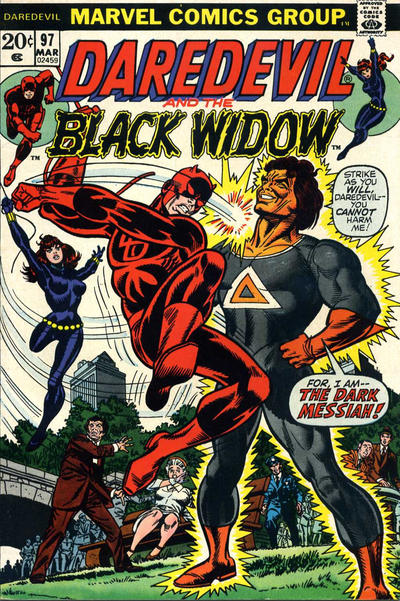 Cover for Daredevil (Marvel, 1964 series) #97 [Regular Edition]