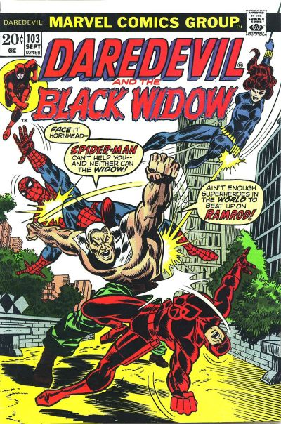 Cover for Daredevil (Marvel, 1964 series) #103 [Regular Edition]
