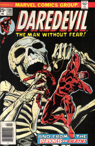 Cover for Daredevil (1964 series) #130
