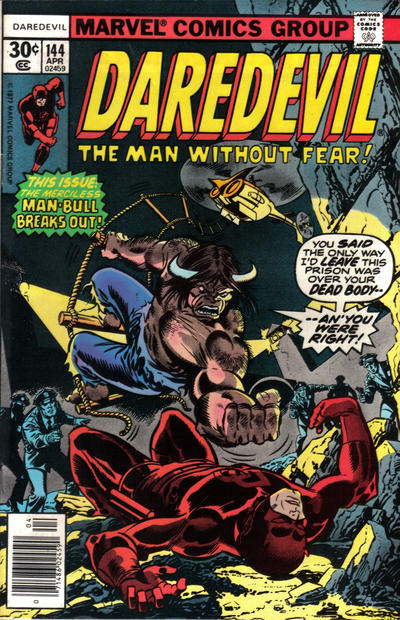 Cover for Daredevil (Marvel, 1964 series) #144 [Regular Edition]
