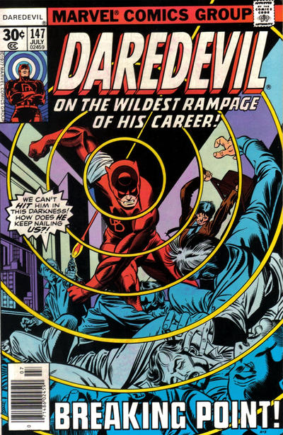 Cover for Daredevil (1964 series) #147 [35 cent cover price variant]