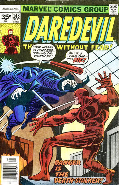 Cover for Daredevil (1964 series) #148 [35 cent cover price variant]