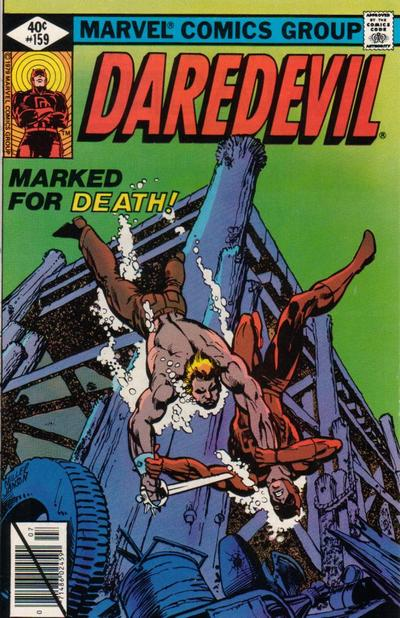Cover for Daredevil (1964 series) #159 [Direct Edition]