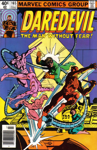 Cover for Daredevil (1964 series) #165