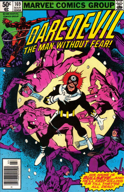 Cover for Daredevil (1964 series) #169