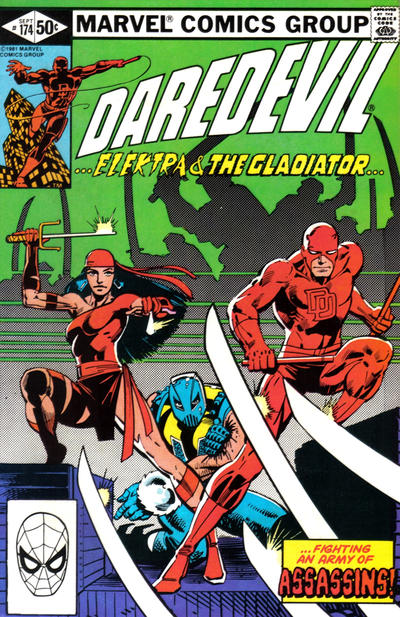 Cover for Daredevil (1964 series) #174