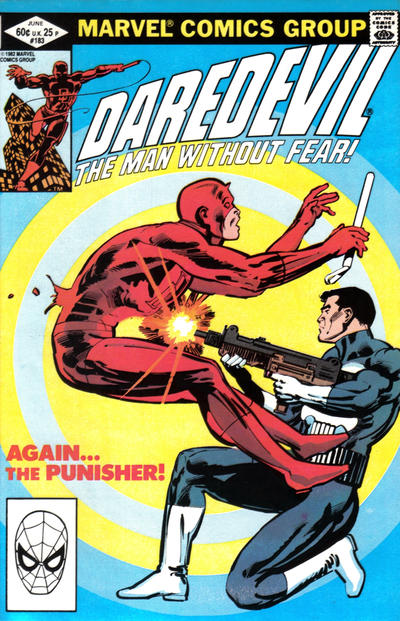 Cover for Daredevil (Marvel, 1964 series) #183 [Direct Edition]