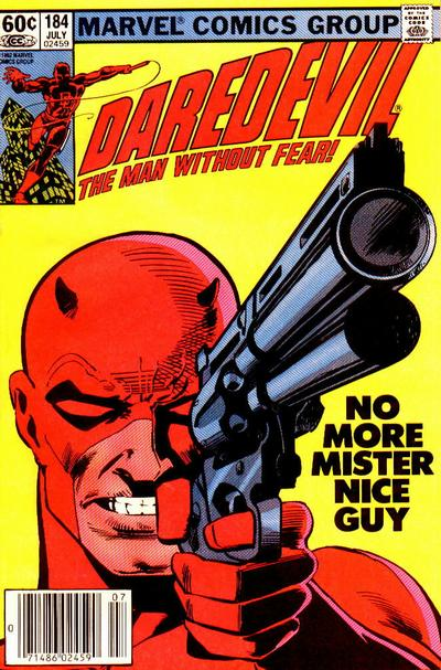 Cover for Daredevil (Marvel, 1964 series) #184 [Newsstand Edition]