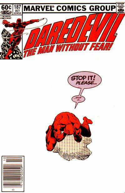 Cover for Daredevil (Marvel, 1964 series) #187 [Newsstand Edition]