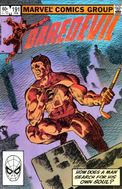 Cover for Daredevil (Marvel, 1964 series) #191 [Direct Edition]
