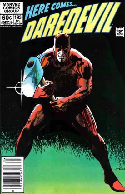 Cover for Daredevil (1964 series) #193