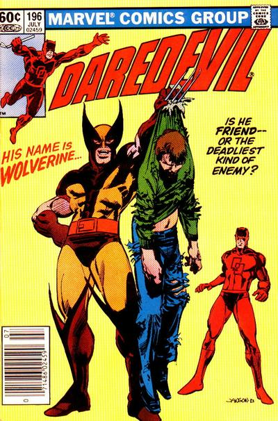 Cover for Daredevil (1964 series) #196 [Newsstand Edition]
