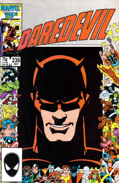 Cover for Daredevil (1964 series) #236 [Newsstand]