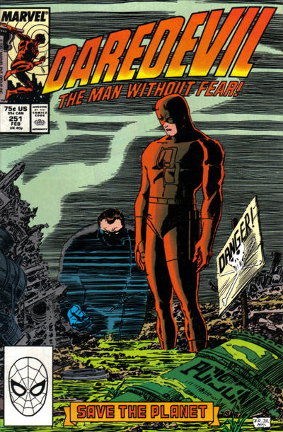 Cover for Daredevil (1964 series) #251