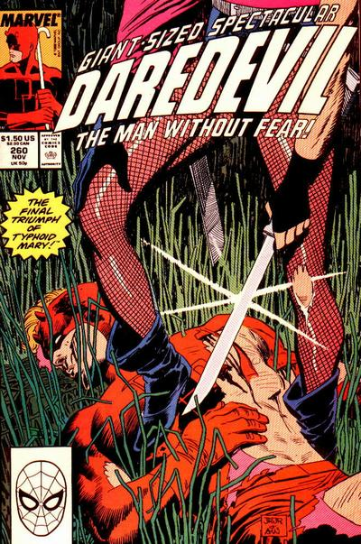 Cover for Daredevil (1964 series) #260 [Newsstand Edition]