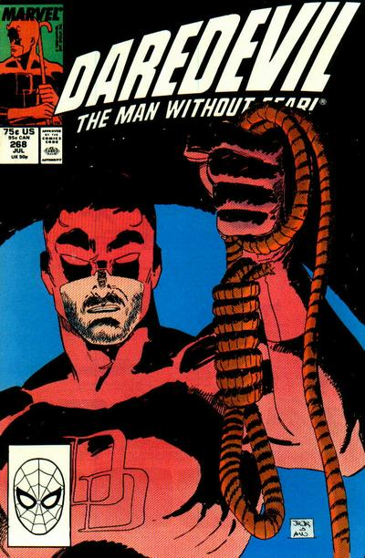 Cover for Daredevil (1964 series) #268