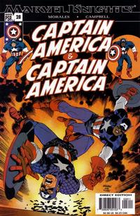 Cover Thumbnail for Captain America (Marvel, 2002 series) #28 [Direct Edition]