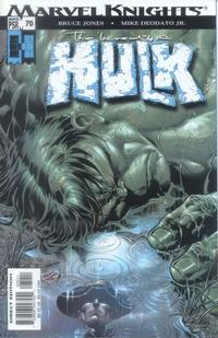 Cover Thumbnail for Incredible Hulk (Marvel, 2000 series) #70