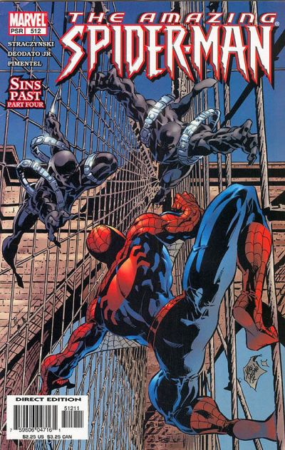 Cover for The Amazing Spider-Man (Marvel, 1999 series) #512 [Direct Edition]