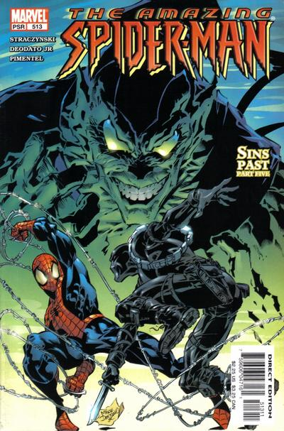 Cover for The Amazing Spider-Man (Marvel, 1999 series) #513 [Direct Edition]