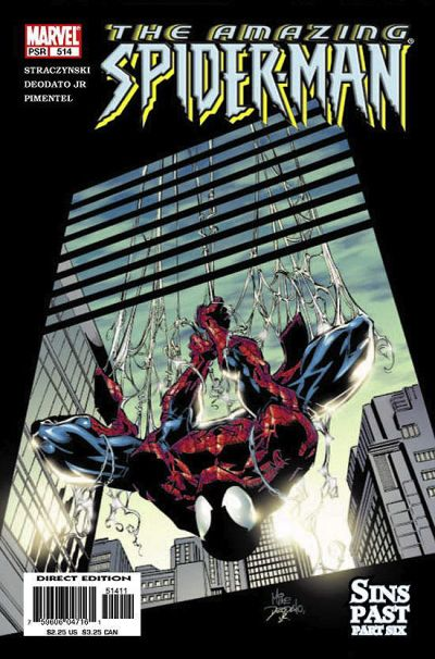 Cover for The Amazing Spider-Man (1999 series) #514 [Newsstand Edition]