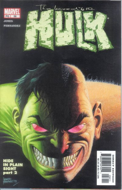 Cover for Incredible Hulk (Marvel, 2000 series) #56