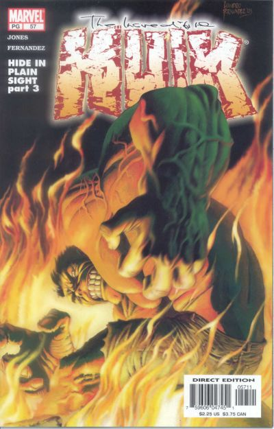 Cover for Incredible Hulk (Marvel, 2000 series) #57
