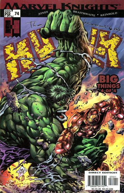 Cover for Incredible Hulk (Marvel, 2000 series) #74