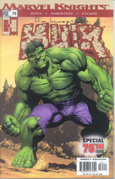 Cover for Incredible Hulk (Marvel, 2000 series) #75
