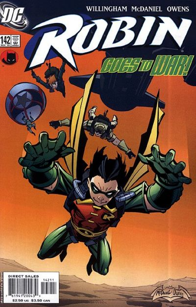 Cover for Robin (DC, 1993 series) #142
