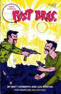 Cover Thumbnail for Those Annoying Post Bros. (Vortex, 1985 series) #3