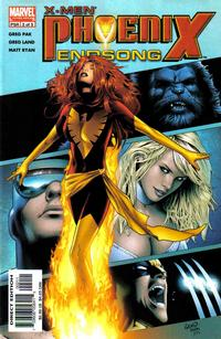 Cover Thumbnail for X-Men: Phoenix - Endsong (Marvel, 2005 series) #2