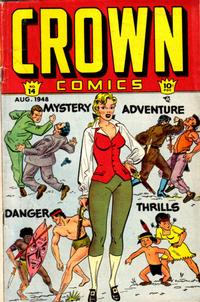 Cover Thumbnail for Crown Comics (McCombs, 1945 series) #14