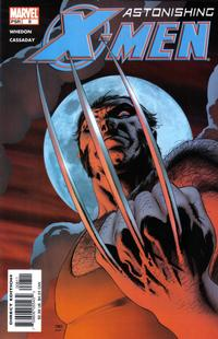 Cover Thumbnail for Astonishing X-Men (Marvel, 2004 series) #8 [Direct Edition]