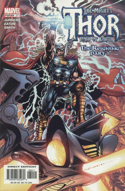 Cover for Thor (Marvel, 1998 series) #69 (571)
