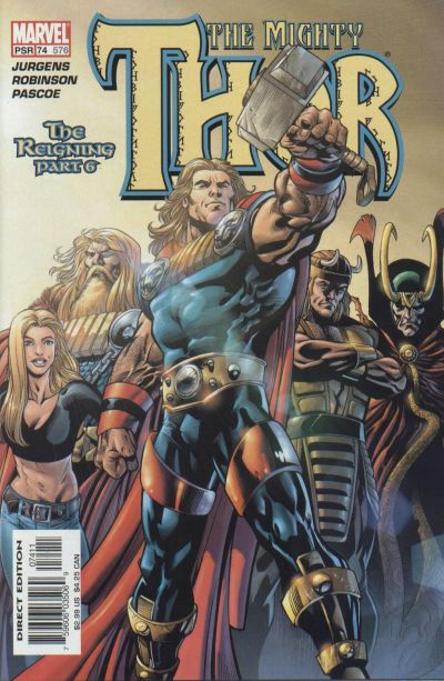 Cover for Thor (Marvel, 1998 series) #74 (576)