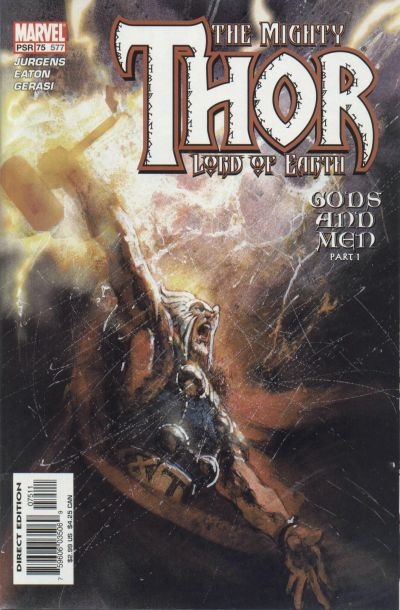 Cover for Thor (Marvel, 1998 series) #75 (577)