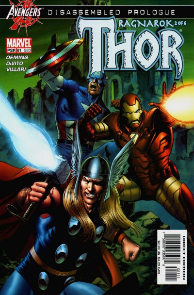 Cover for Thor (Marvel, 1998 series) #81 (583)