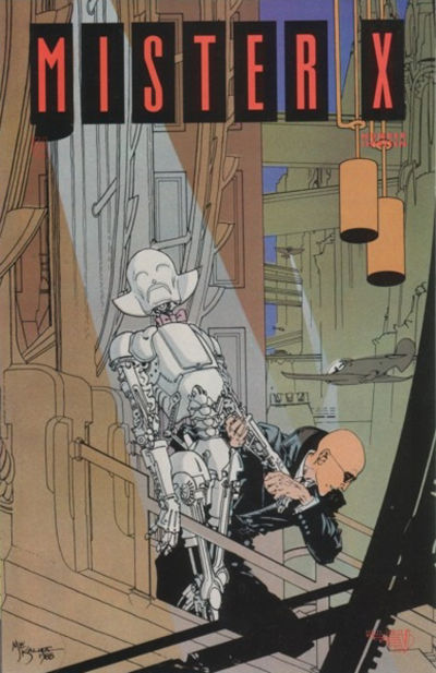 Cover for Mister X (Vortex, 1984 series) #13