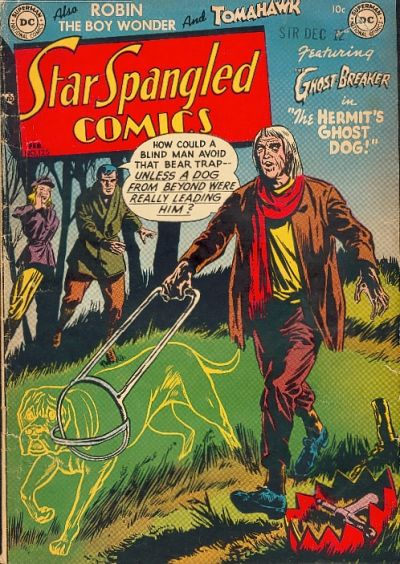 Cover for Star Spangled Comics (DC, 1941 series) #125