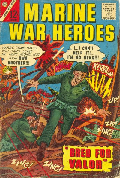 Cover for Marine War Heroes (Charlton, 1964 series) #9