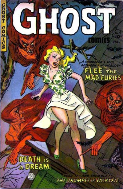 Cover for Ghost Comics (Fiction House, 1951 series) #4