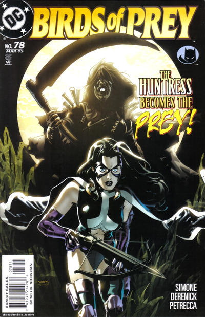 Cover for Birds of Prey (DC, 1999 series) #78