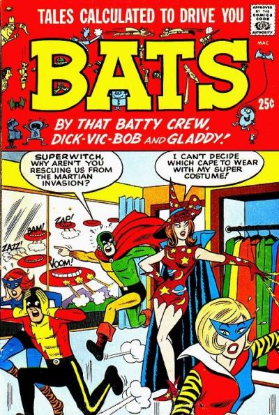 Cover for Tales Calculated to Drive You Bats (1966 series) #1