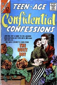 Cover Thumbnail for Teen-Age Confidential Confessions (Charlton, 1960 series) #18