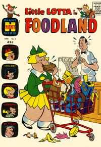 Cover Thumbnail for Little Lotta Foodland (Harvey, 1963 series) #4